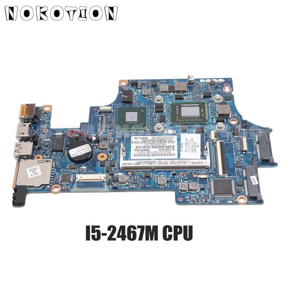 NOKOTION QAZ61 LA-8044P 672352-001 اللوحة الرئيسية ل HP فوليو 13-1000 13.3 ''PC اللوحة I5-2467M CPU DDR3