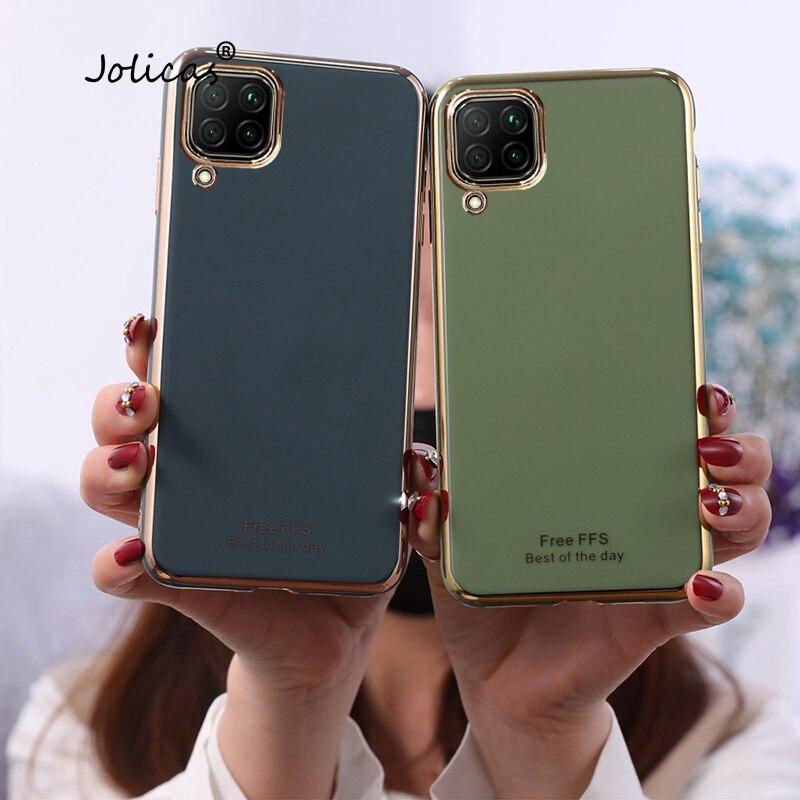 Fundas para teléfono inteligente Huawei Nova 7i, funda de silicona suave, para...