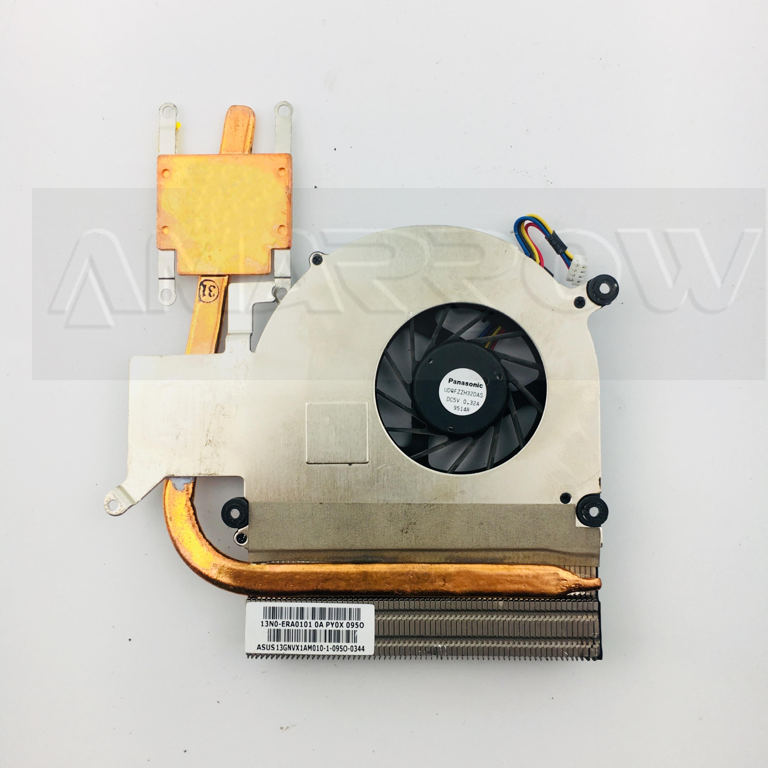 Original para asus laptop disipador ventilador de refrigeración de K40 K50 K40IJ K50IJ K50AB X8AAf K50AF K40IN K50IN K50IP K50ID K50IE disipador CPU