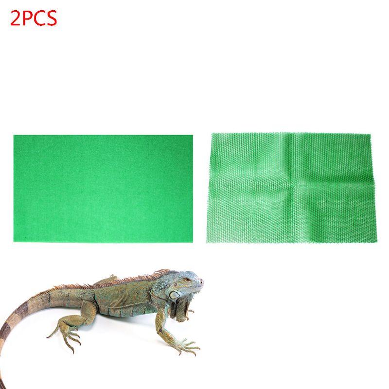 Langlebig waschbar Teppich Terrarium Liner, Bearded Dragon Zubehör Reptilien Käfig Matte/Substrat