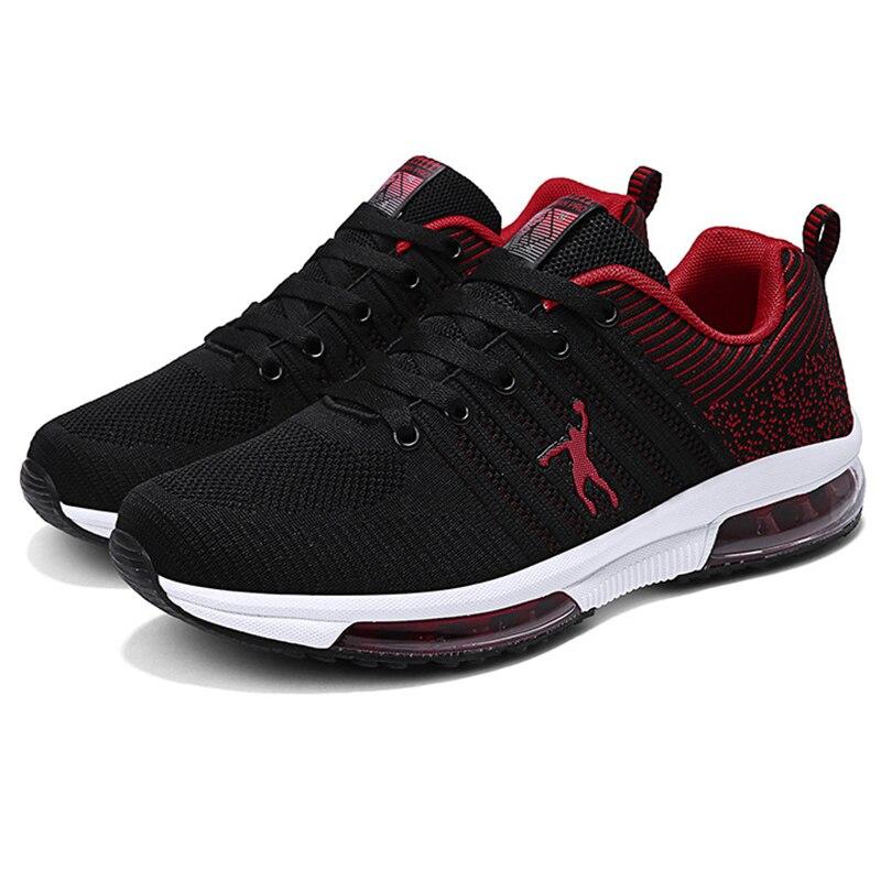 Joedon الجولان تحلق شبكة منسوجة إيفا الوحيد عدم الانزلاق الأسود حذاء كاجوال أحذية رياضية رجالية احذية الجري حجم 50