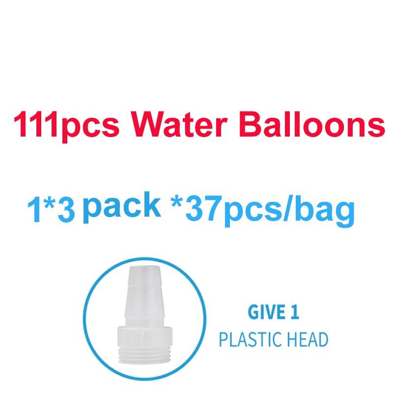 111 pçs bombas de água balão incrível enchimento balões mágicos crianças água guerra suprimentos do jogo crianças verão ao ar livre praia brinquedo festa