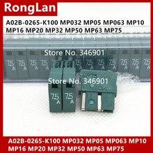 FANUC fusible vert A02B-0265-K100 A60L-0001-0046 MP032 MP05 MP063 MP10 MP16 MP20 MP32 MP50 MP63 MP75 5.0A 6.3A 7.5A M PH-4V-20PCS