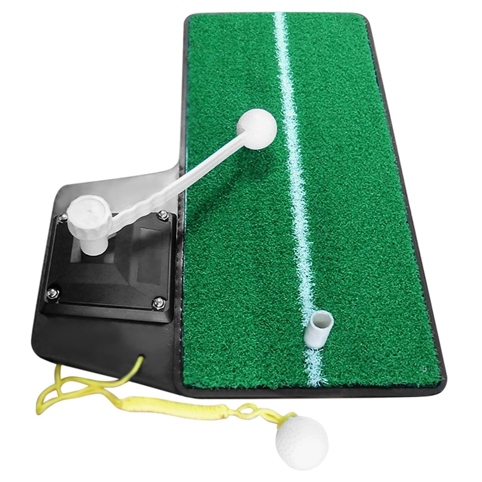 Golf Practice Swing Mat Golf Power Trainer Golf Grass Training Mat for Outdoor Indoor Home Garden Office Camping