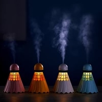 Voiture chambre bureau maison purificateur dair humidificateur electrique arome essentiel diffuseur dhuile USB Badminton LED veilleuse humidificateur