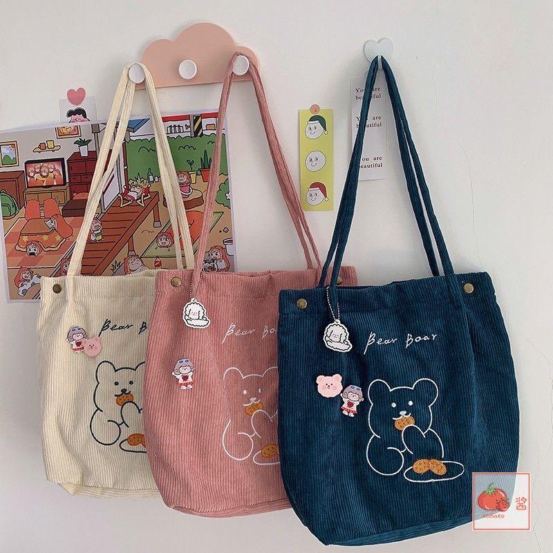 tela-spalla-di-velluto-a-coste-shopping-borse-a-forma-di-orso-carino-borsa-a-tracolla-da-donna-borsa-a-mano-borsa-da-viaggio-borse-borsa-casual-per-donna-bookbag