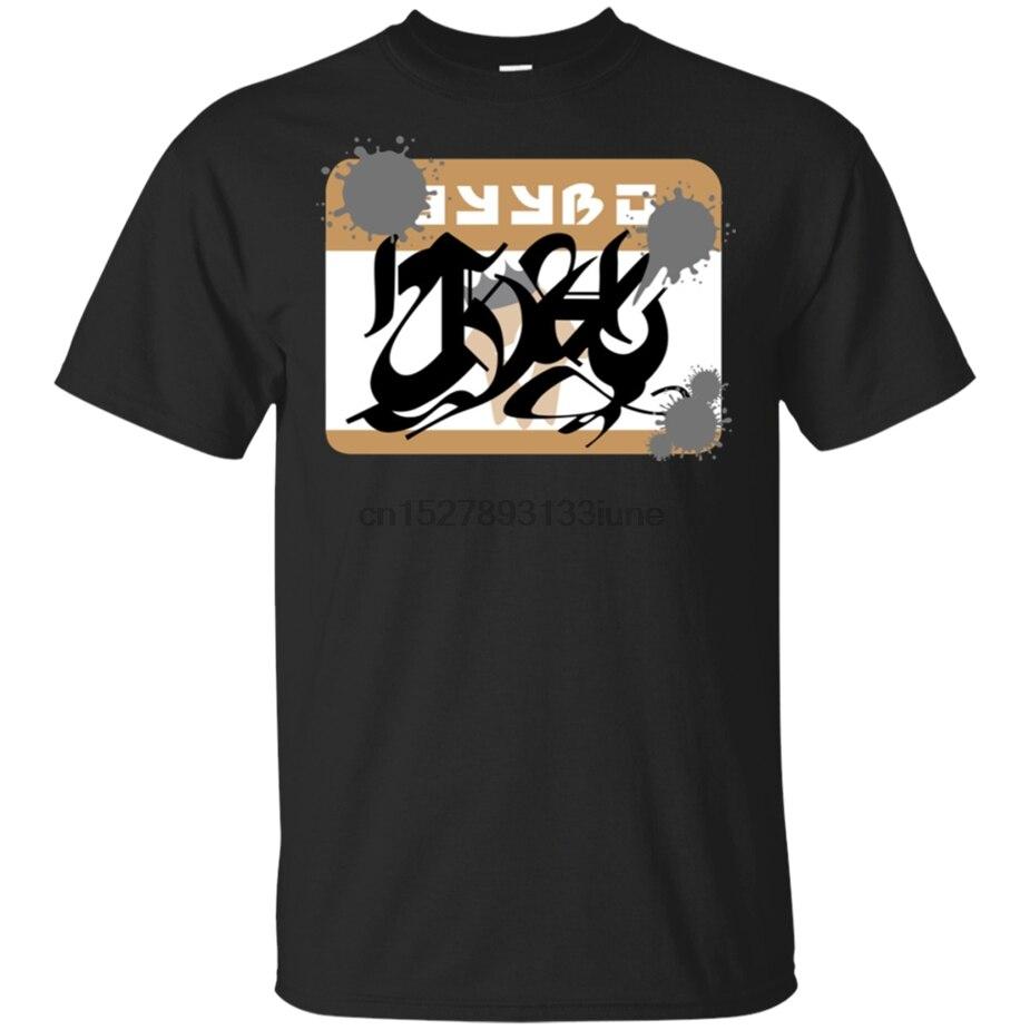 Splatoon 2-camiseta de manga corta para hombres, camisa Popular de color negro...