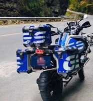 moto motorcycle accesorios para sticker decals r1200gs lc r1250gs adventure panniers cover set top box cases protection pads