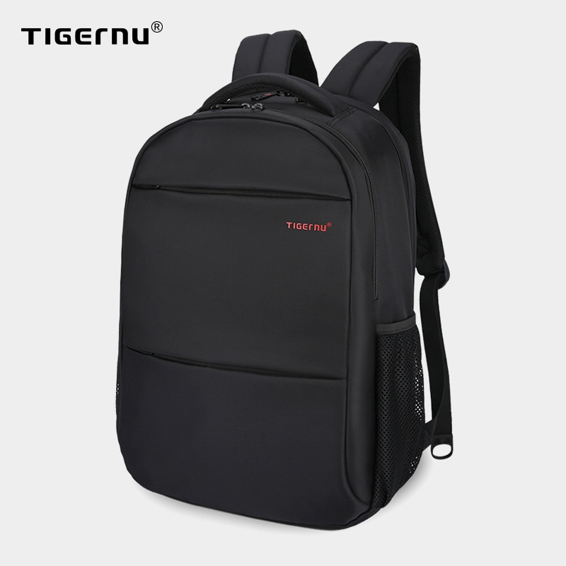 Tigernu Men Women 15-17inch Backpacks Waterproof Nylon Laptop Backpack Bag Casual Male Mochilas Computer School Backpack For Men