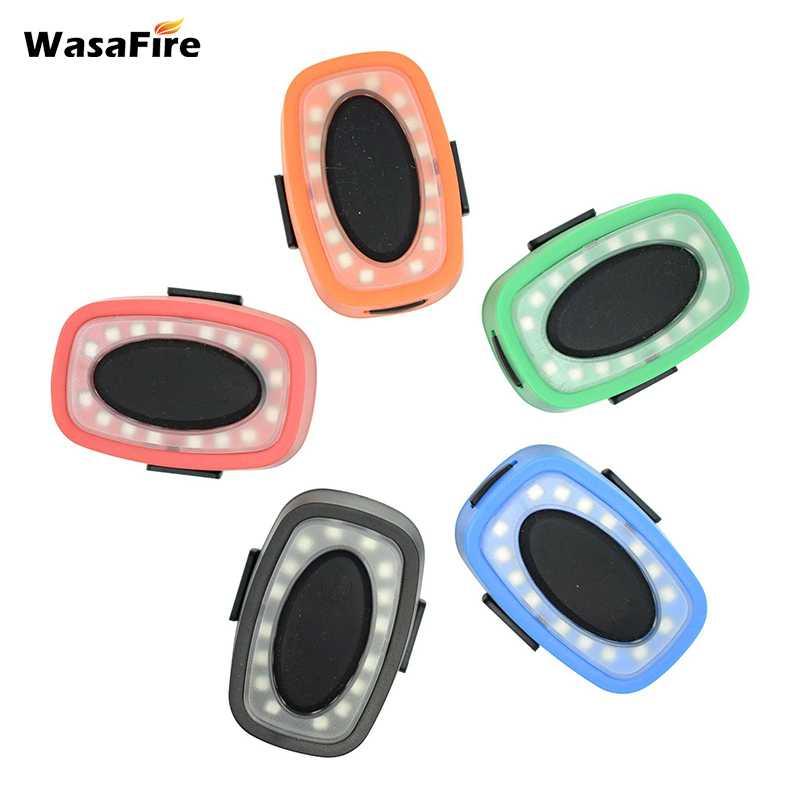 WasaFire 16 * LED luz trasera de bicicleta USB recargable Flash de...
