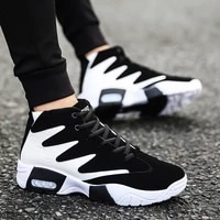 man outdoor basket shoes for man breathable walking shoes mens comfortable sport shoes high top sneaker men fashion sneakers