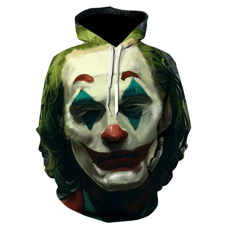 New Tracksuits women Male Joker Sweatshirts hoodies MenAutumn Harajuku Hip Hop IT Clown Money Funny Fashion Oversized Hoodie 5XL