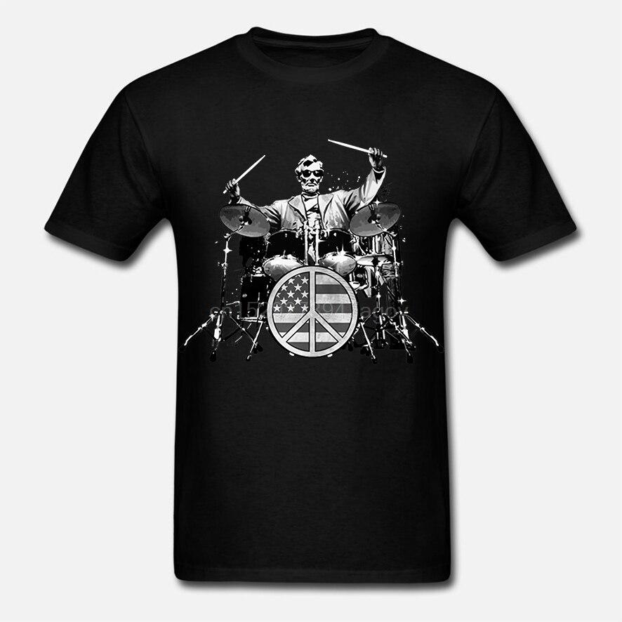 Camiseta de música Rock Sm 3XL para hombre presidente de EE. UU.