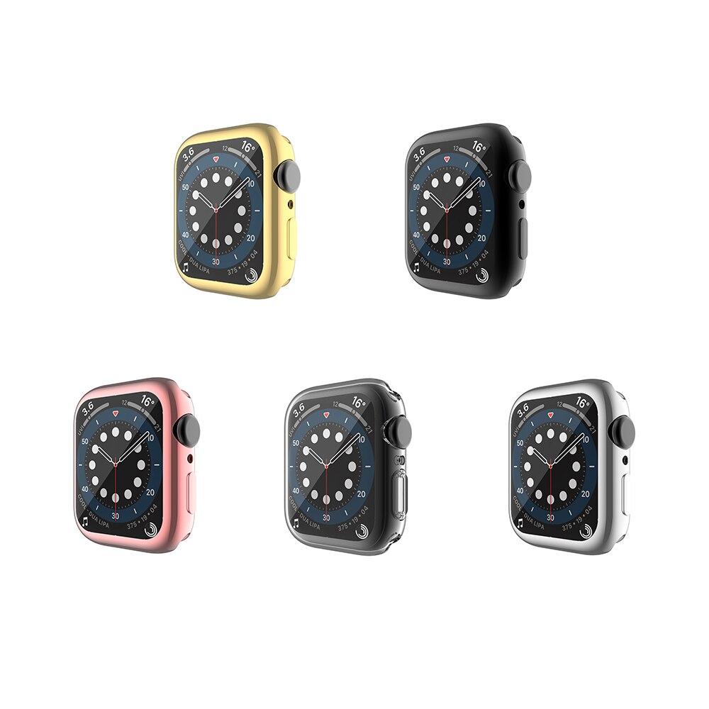 جراب واقي شاشة متوافق مع Apple Watch ، 3 ، 2 ، 1 ، 42 مللي متر/38 مللي متر ، 5 عبوات ، غلاف واقي ملفوف لساعة Apple watch