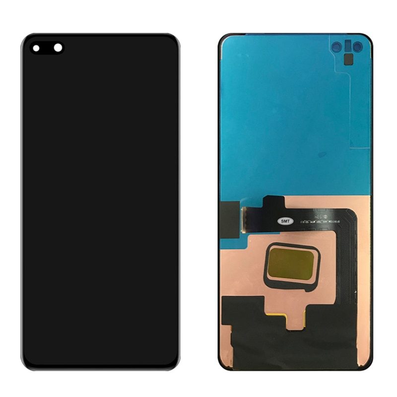 Original 6.1'' P40 Display Screen With Frame For HUAWEI P40 ANA-AN00 TN00 NX9 LX4 LCD Display Touch Screen Digitizer Assembly enlarge