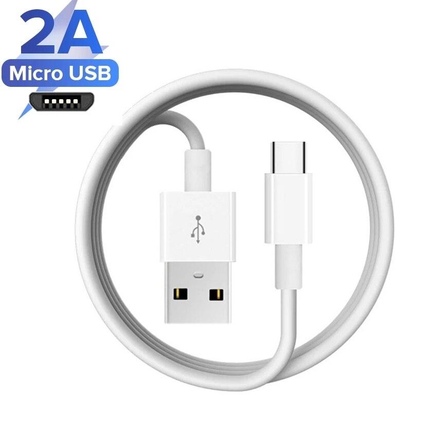 Cable Micro Usb de 1m para Samsung Galaxy, A6, A7, 2018, Huawei...