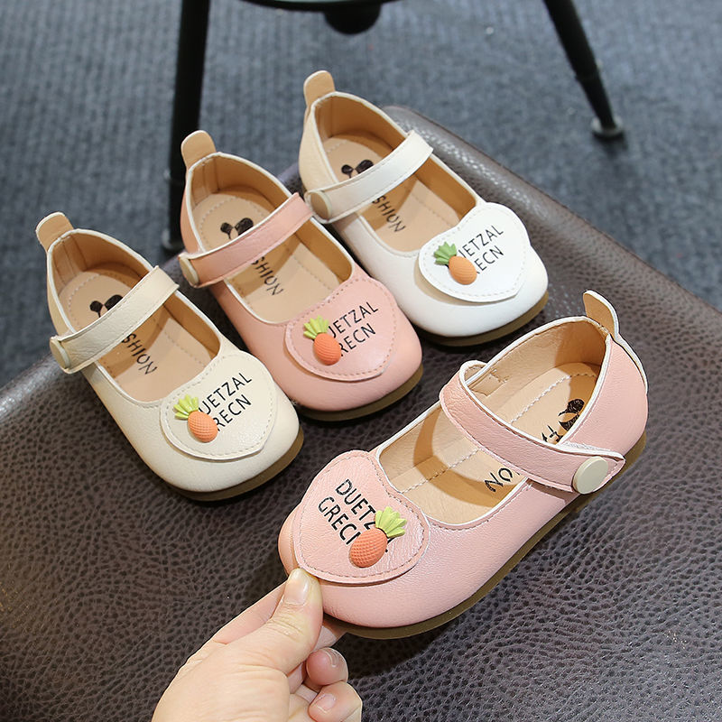 Girls PU Leather Shoes Little Girls Princess Shoes Childrens Single Shoes Korean Style Baby Toddler
