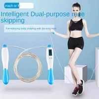 mens and womens adult fitness steel wire skipping rope with counter sports supplies childrens jumping rope
