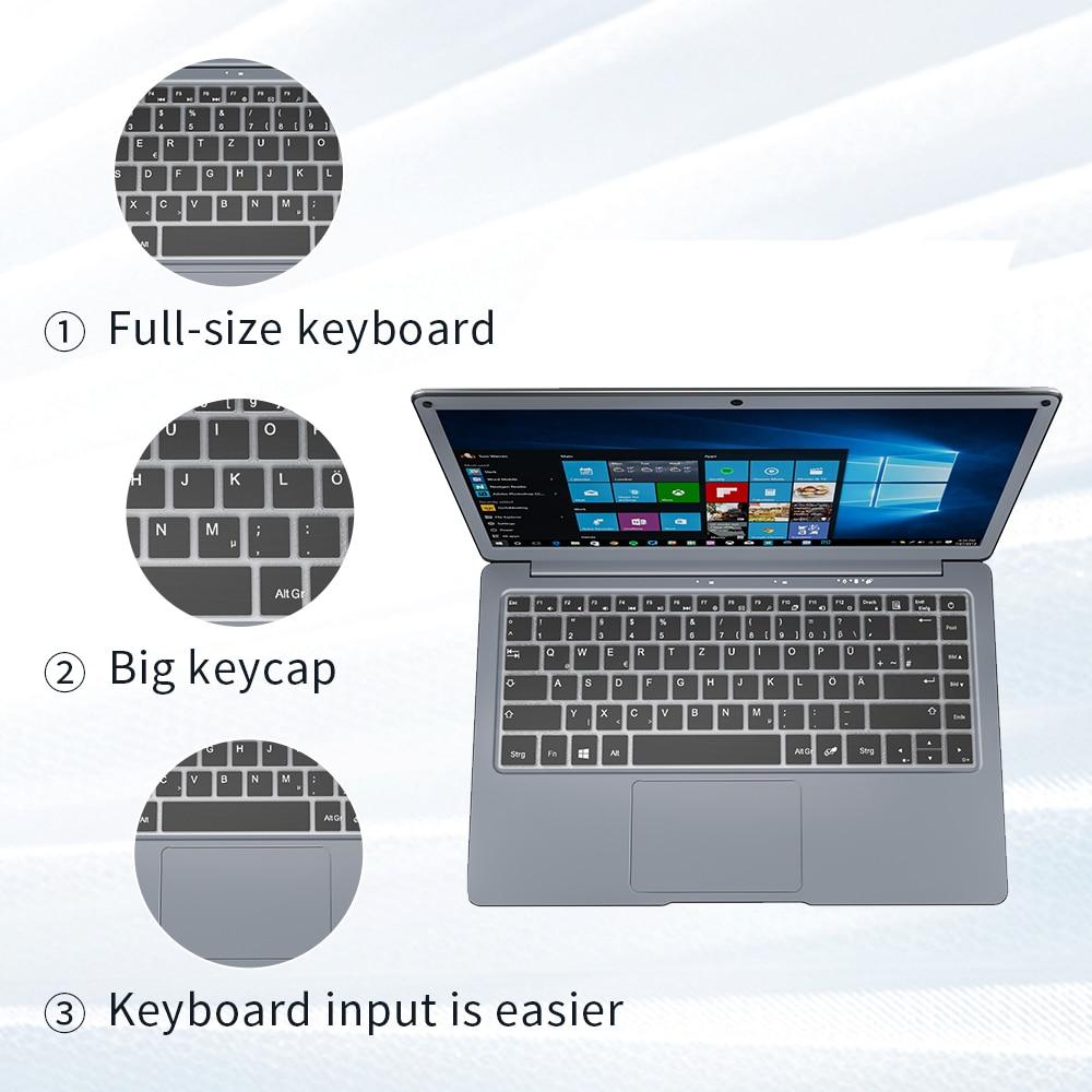 Jumper EZbook X3 Notebook 8GB 128GB 13.3 Inch 1920*1080 IPS Screen Intel Celeron Quad Core Ultra Slim Win10  Laptop 2.4G/5G WiFi