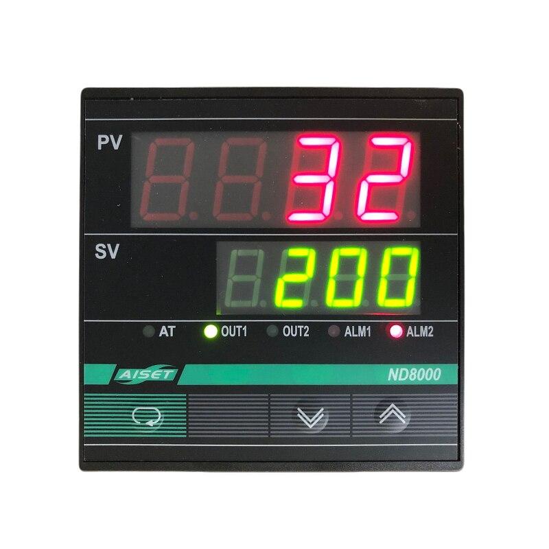 ND-8830V AISET أداة ترموستات ND8000 8431V 8434V 8812V 8800V 8430V ND-8431V ND-8434V ND-8812V PT100 300 ℃ K 300 ℃