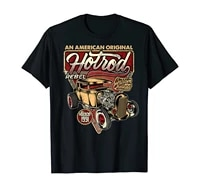 vintage hot rod old school speed and power shirt for men tshirt