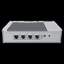 BKHD G40-4L-WIF Mini PC 4 Lan port Fanless VGA HDMI J4125 1.83GHz Quad Core CPU Computer for Office