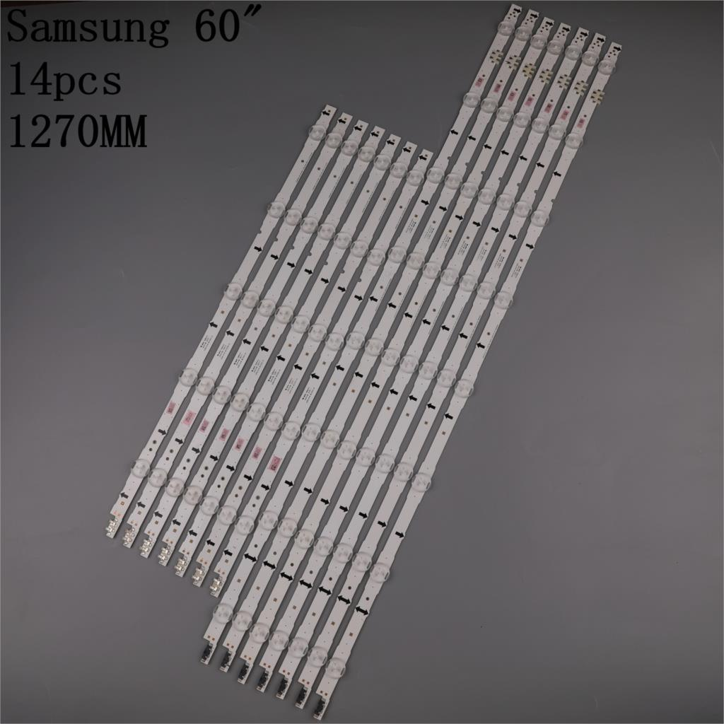 LED الخلفية قطاع (14) لسامسونج UE60H6270 UA60H6400 UE60H6200 UE60H6300 UE60J6240 UE60J6250 HG60ND470 D4GE-600DCA 600DCB-R2
