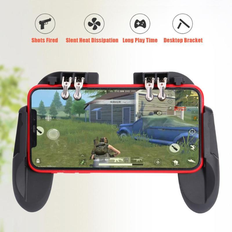 H9 teléfono móvil control de la manija del juego compatible con la sensibilidad de disparo sensación cómoda 4,7-6,0 pulgadas de pantalla Smartphone