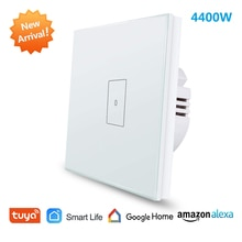 EU WiFi Boiler Water Heater Switch 4400W Tuya Smart Life App Remote Control ON OFF Timer Voice Contr