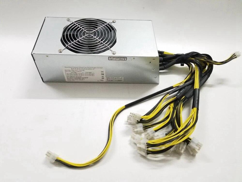 Antminer APW5 2600 واط امدادات الطاقة BITMAIN APW5 PSU سلسلة المستخدمة