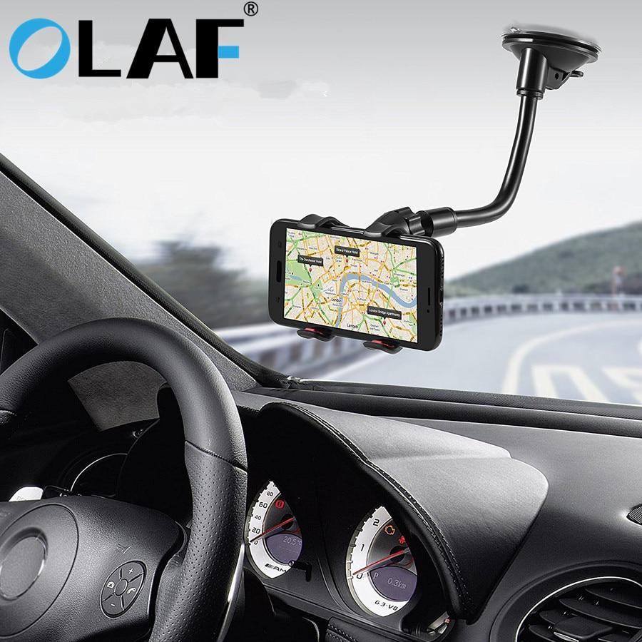 Olaf Phone Car Holder Flexible 360 Degree Rotation Mount Windshield Mobile Phone Holder For phone Ca