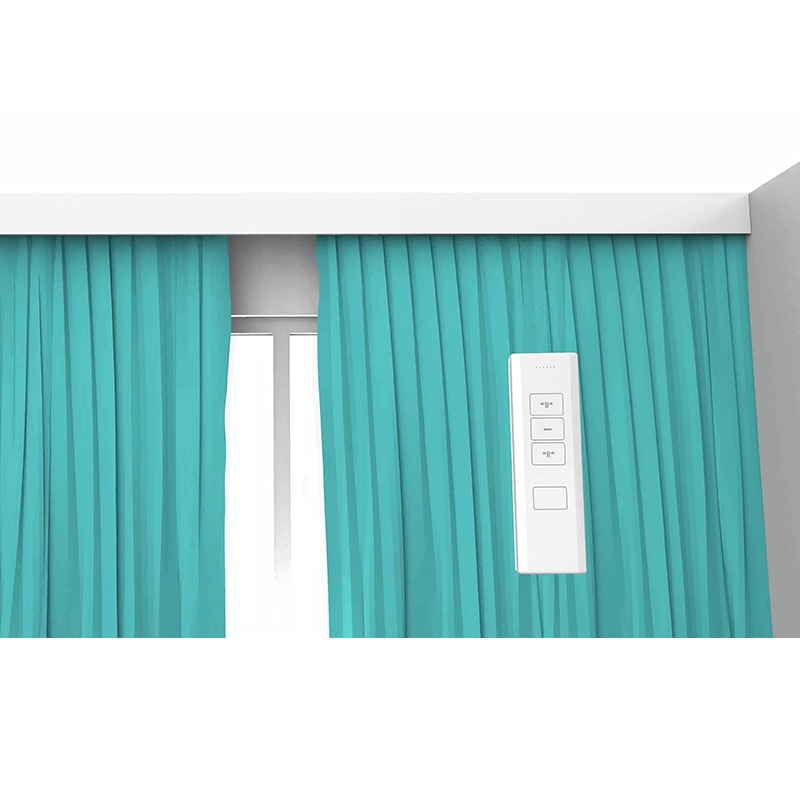 Ewelink Smart Motorized Wifi Curtain Motor With 1.6M -5.2M Electronic Curtain Rail Track Kits Remote Control Alexa Google Home