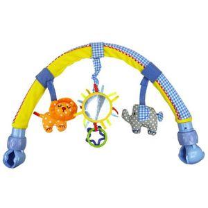 Младенческая Детская коляска/кроватка подвесные игрушки милый мягкий плюшевый Арка погремушки кольцо колокольчик 95AE