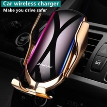 Smart Sensor Automatic Clamping Car Wireless Charger Stand Air Outlet Multifunction Phone Holder Aut