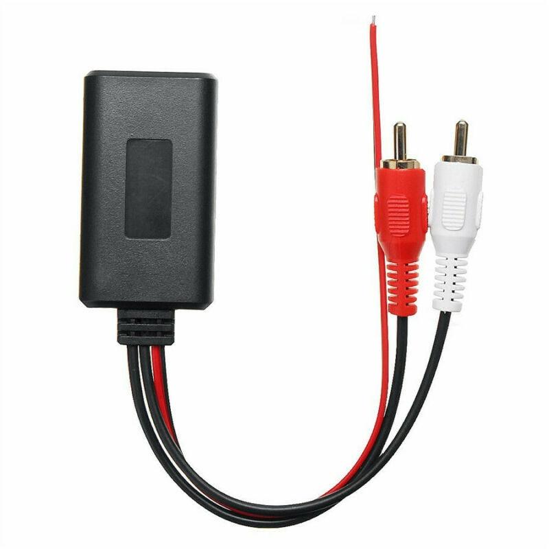 Автомобильный беспроводной модуль приемника Bluetooth, адаптер AUX, музыкальный аудио стерео приемник для транспортных средств с интерфейсом 2RCA
