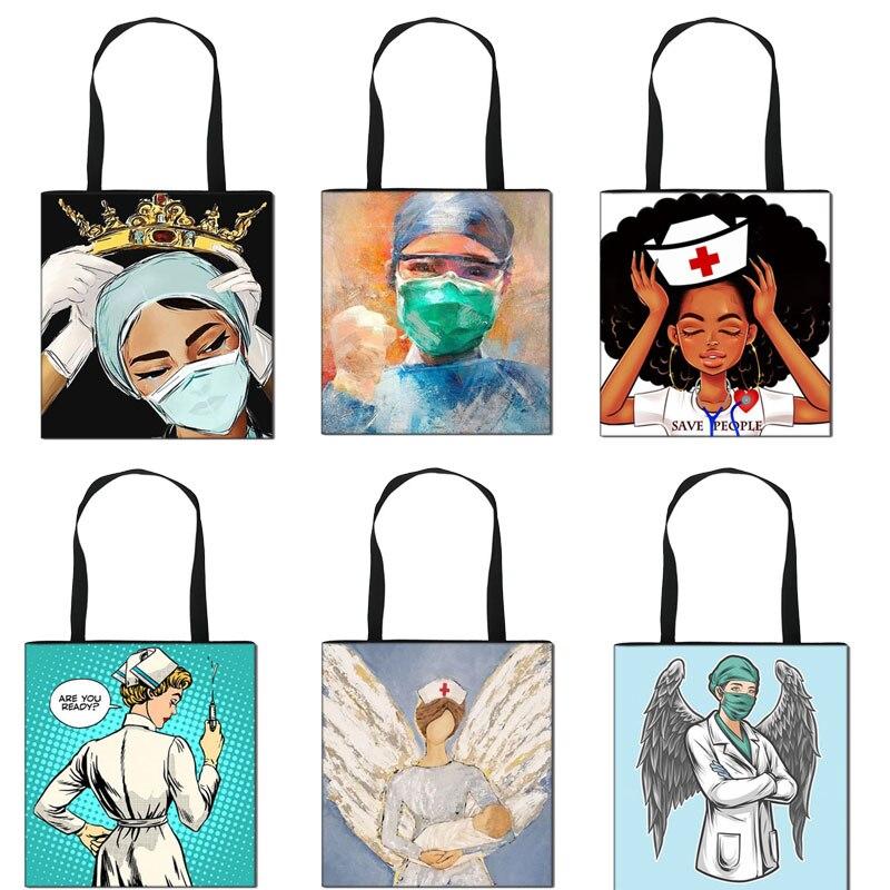 Женская сумка-тоут с крыльями, короной и надписью «Angel with Wings»