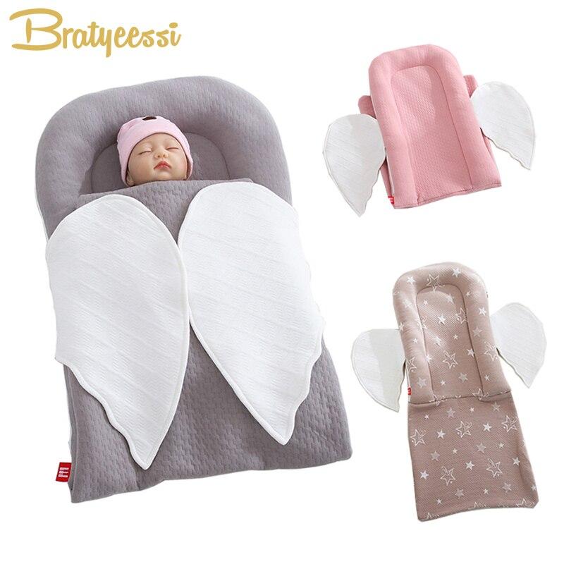 Крылья для новорожденных Детское гнездо кровать с одеялом портативная детская колыбель бампер для новорожденных корзина для сна для новор...