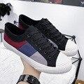 Męskie buty na co dzień moda 2020 wiosna mężczyźni trampki buty mężczyźni Casual Walking wypoczynek obuwie marki męskie buty sportowe
