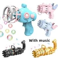 girls toys bubble guns boy toys automatic bubble machines soapy water bubble machines gatling childrens bath toys