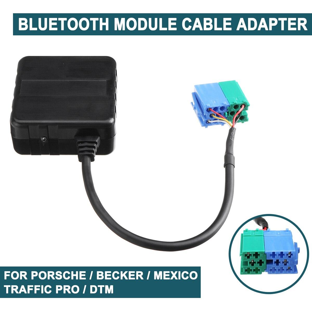 Adaptador de Cable auxiliar para el módulo de Radio estéreo bluetooth 5,0 para coche DTM Traffic Pro DTM