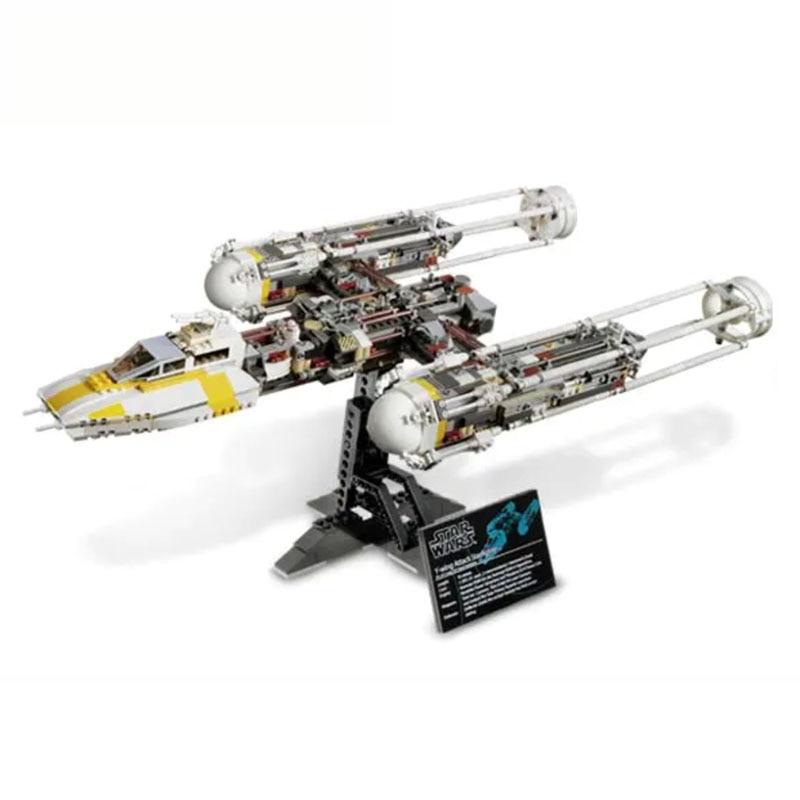 Novo 05040 star space wars x asa y-wing lutador starwars blocos de construção define tijolos modelo clássico crianças brinquedos presentes