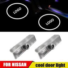 For Nissan Teana j32 j31 Murano Patrol LED Car Door Projector Light Luces Para Auto Welcome Interior Laser Logo Lights Carro Luz