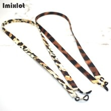 Wide Leopard Eyeglass Strap Faux Leather Sunglasses Lanyard Necklace Outdoor Sports Glasses String R