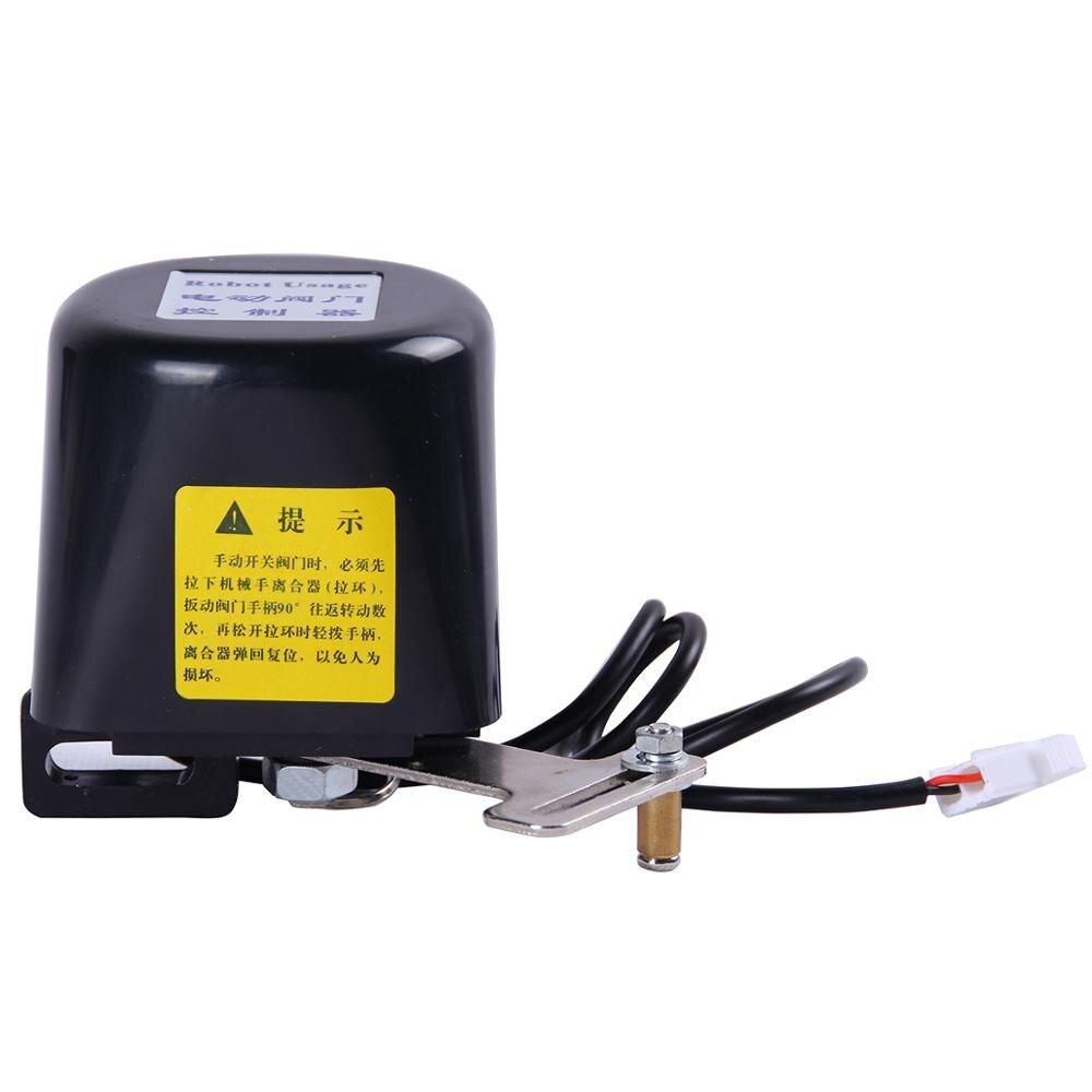 Manipulador automático Shut Off Valve Para Alarme de Desligamento do Encanamento De Água A Gás Dispositivo de Segurança Para Kitchen & Bathroom