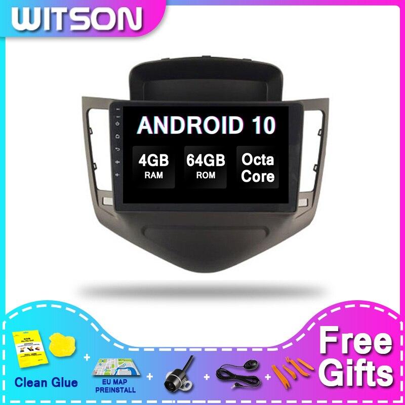 WITSON gran pantalla Android 10 sistema Multimedia de coche para CHEVROLET CRUZE CLASSIC 2008-2011 4RAM 64ROM