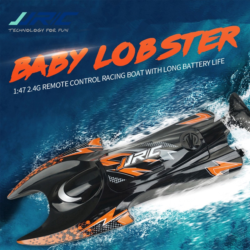 JJRC S6 1/47 2.4G Brush Motor Simulate Lobster Electric RC Boat Remote Control Vehicle Model Outdoor