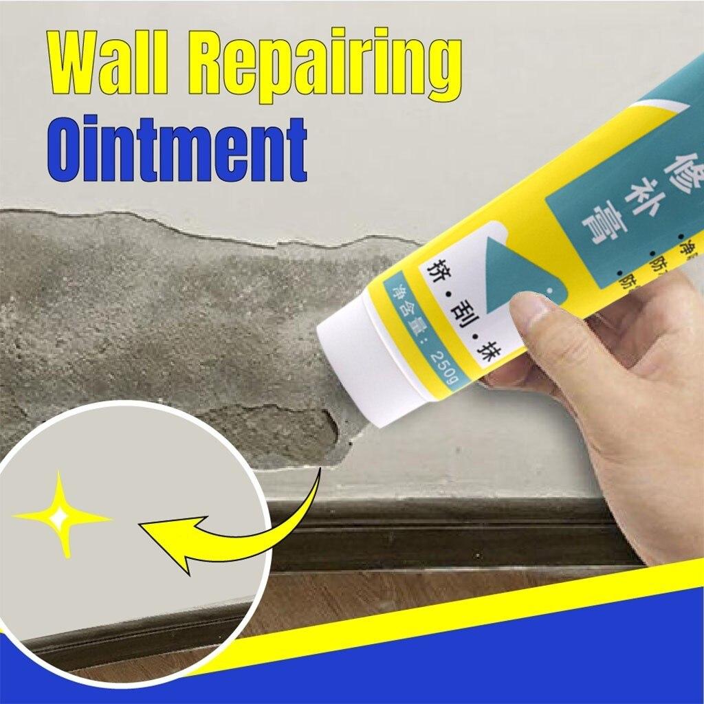 Masilla blanca mágica para reparación de paredes, masilla interior de pared, reparación de grietas, herramientas de decoración de pintura de látex, revestimiento de raspado
