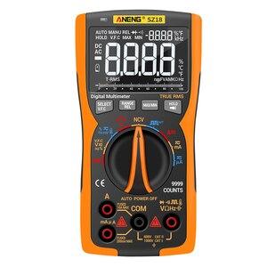 ANENG SZ18 Digital Multimeter 9999 Professional True RMS Analog Tester Multimetro DIY Transistor Capacitor NCV Testers Lcr Meter