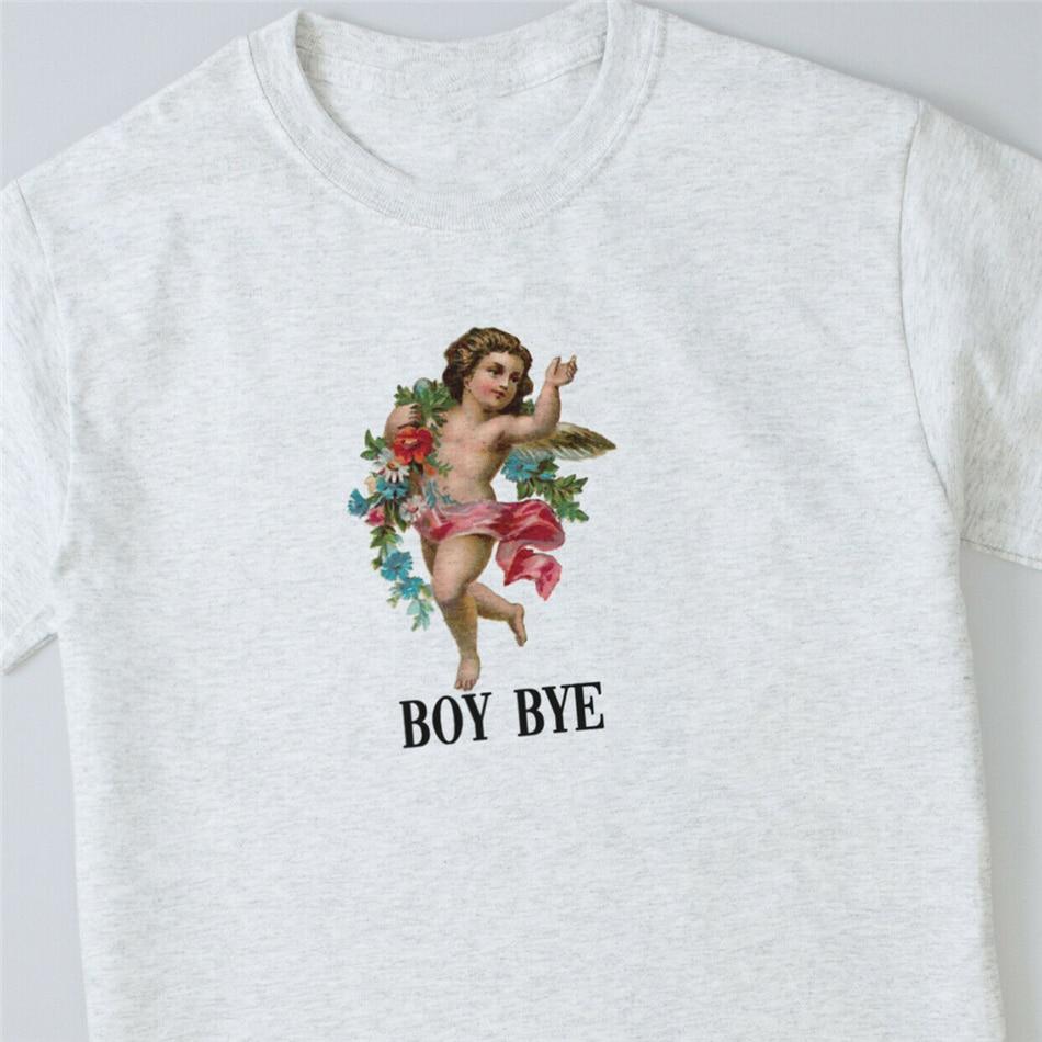 Cherub Boy Bye camiseta ángeles Felicia Grunge Retro Hipster Heaven lindo Casual algodón camiseta Unisex