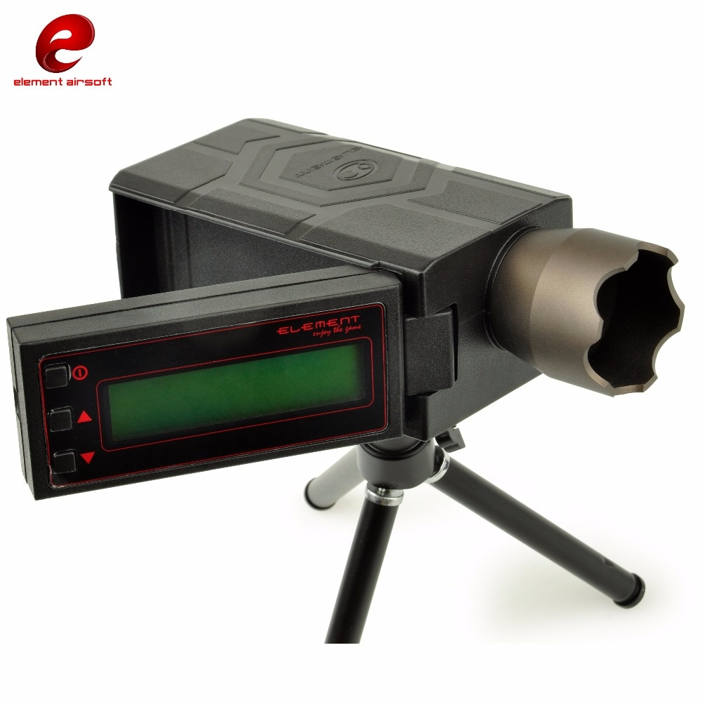 Element Airsoft Foldable E1000 Shooting Chronograph LCD Screen Measure Tool BB Bullet Speed Tester Tactical Accessories EX236